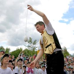Zauberer Magic Martin und seine Mitmachzauberei