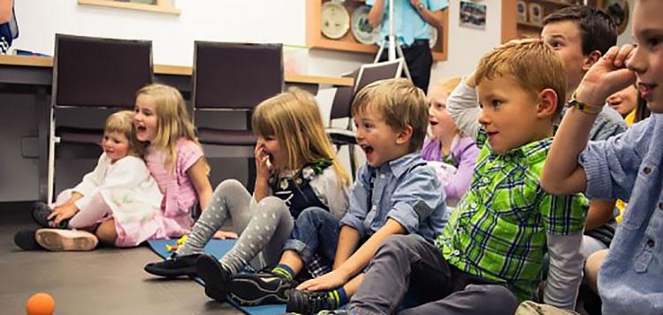 Begeisterung bei den Kindern