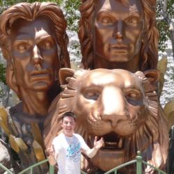 Las Vegas bei Siegfried und Roy