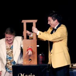Humorvolle Unterhaltung mit dem Zauberkünstler Magic Martin
